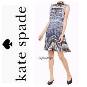 Kate Spade New York Stephana Deco Ruffle Dress